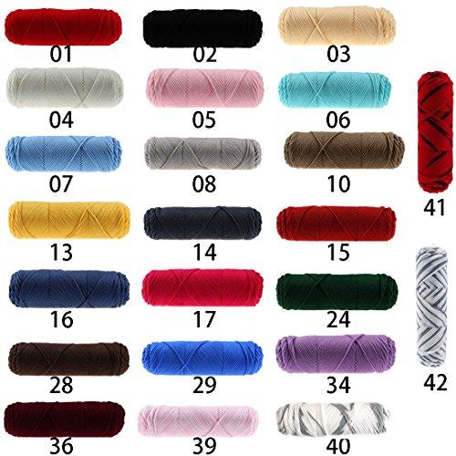 ニットウール DIY 織り糸 綿布 糸 手編み 毛布 弾性