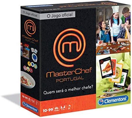 Clementoni - JOGO MASTERCHEF JÚNIOR (67252 - Versión Portuguesa): Amazon.es: Juguetes y juegos
