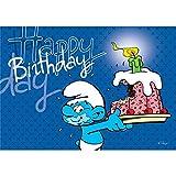 Postcard The Smurfs, Happy Birthday (15x10cm)