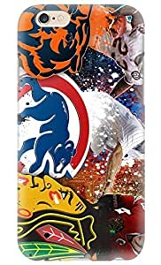 FUNKthing Chicago Sports-Chicago Bears-Chicago Cubs-Blackhawks PC Hard new iphone 6 4.7 cases for girls designs