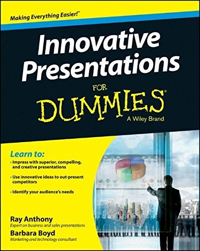 Innovative Presentations For Dummies by Ray Anthony (2014-06-16)
