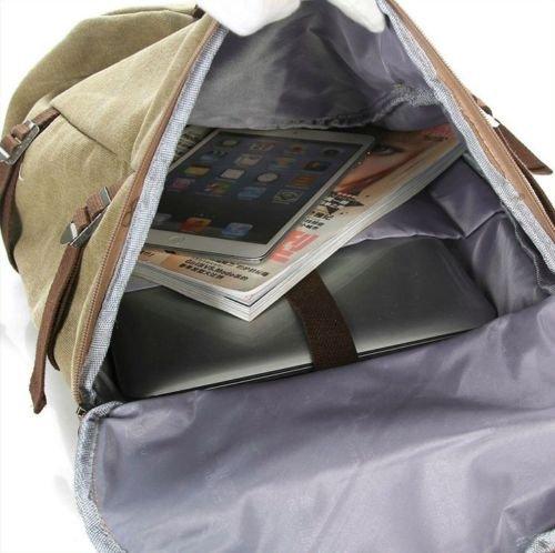 de gimnasio Tarmac de al Green hombro aire mochila libre senderismo viaje mochila bolsa buibao viaje lienzo de bolsa equipaje vAqwZ