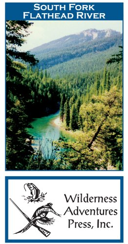 Reservoir Fishing Map - South Fork Flathead River 11x17 Fly Fishing Map
