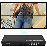 LINK-MI V02 2x2 Video Wall Controller, can daisy-chain to 3x3 and larger HDMI outputs, mult