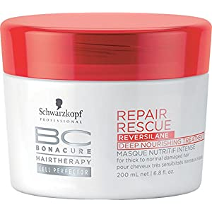 Schwarzkopf BC Repair Rescue Traitement Masque Nutritif Intensif 200 ml