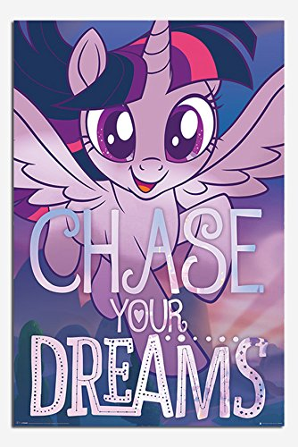 My Little Pony Movie Chase Your Dreams Poster Gloss Laminated - 91.5 x 61cms (36 x 24 ()