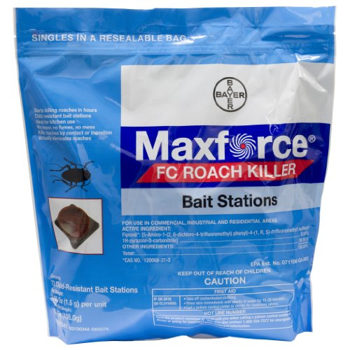 Maxforce Fc Roach Bait Stations-4 Bags of 72 Stations BA1079 by Max Force