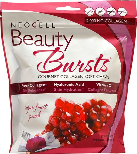 Neocell Beauty Burst Fruit Punch Special 5 Packk ( 300 chew Total) by Neocell
