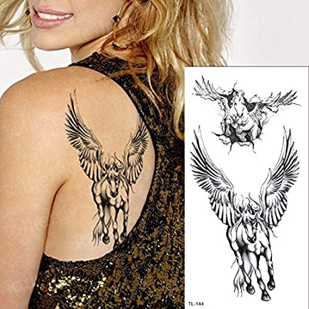 Tatuaje Temporal Mujer Debajo del Pecho Tatuaje Mehndi Pegatinas ...