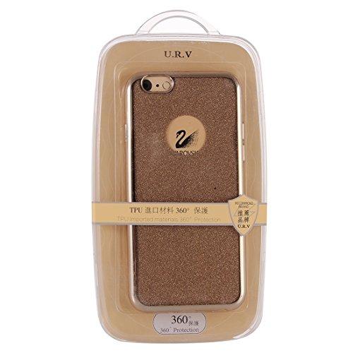 Phone Taschen & Schalen Galvanisierendes Blitzpulver TPU Schutzhülle für iPhone 6 Plus & 6s Plus ( Color : Gold )