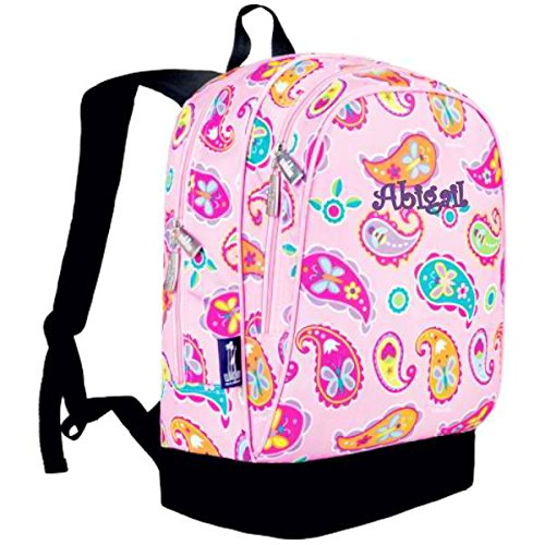 Personalized Classic Backpack (Pink Paisley Butterflies & Bees)