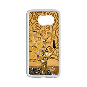 Diy Love Tree of Life Phone Case for samsung galaxy s6 White Shell Phone JFLIFE(TM) [Pattern-2]