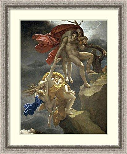 Framed Art Print 'Scene of The Flood' by Anne Girodet de ()