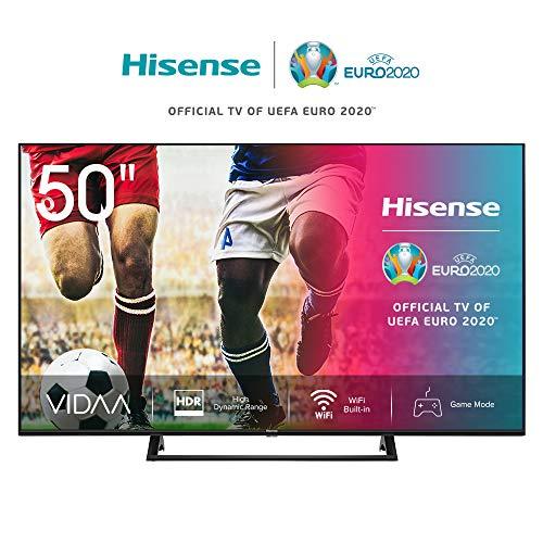 🥇 Hisense UHD TV 2020 50AE7200F – Smart TV Resolución 4K con Alexa integrada
