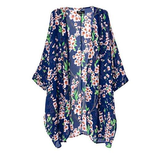 Cardigan Toraway Printed Sleeve Kimono