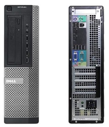 Dell Optiplex 7010 SDT Premium Business Desktop PC, Intel Celeron Dual Core Processor 2.6GHz, 4GB RAM, 250GB HDD, DVD+/-RW, Windows 7 Professional (Certified Refurbished)
