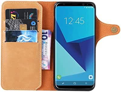 Samsung Galaxy S8 Plus Handmade Wallet Case Credit Card Protector