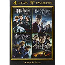 4 Film Favorites: Harry Potter Years 5-7