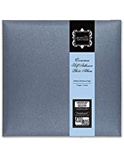 """Grant Studios Magnetic' Economax Photo Album, 30.5cm Length x 30.5cm High (12""""x 12"""") with PhotoGuard (Acid Free) and Patented SnapLoad for Rapid Refill – Grey Pearlescent (1383)"""