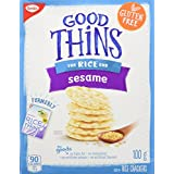 Good Thins Rice Sesame Crackers, 100 Grams