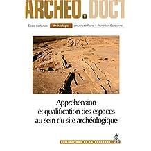 Appréhension et qualification des espaces au sein du site archéologique (Archéo.doct)