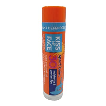 Kiss My Face Lip Balm Sport - 0.15 Oz - Pack of 24 Alba Botanica 1208297 Good & Clean Gentle Acne Wash, 6 oz
