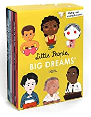 Little People, Big Dreams: Mutig und unerschrocken: Geschenkbox mit 6 Bänden:. Muhammad Ali, Hannah Arendt, Simone de Beauvoir, Mahatma Gandhi, Martin Luther King, Rosa Parks