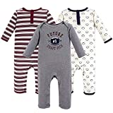 Hudson Baby baby girls Cotton Coveralls Layette