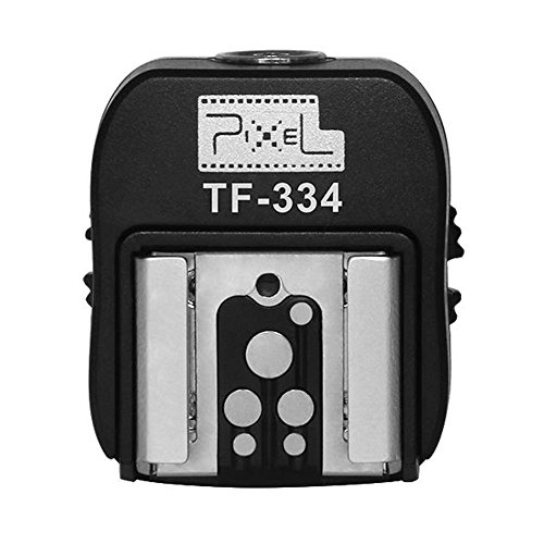 Pixel Hotshoe Adapter with Pc Port for Sony A7 A7S A7SII A7R A7RII A7II NEX6 RX1 RX1R RX10 RX100II HX50 A6300 to Canon Nikon Flash Speedlite and Flash Trigger