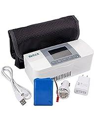 AIJUN Portable Insulin Cooler Case Portable Reefer Car Small Refrigerator