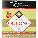 Touch Organic Tea, Cube Oolong, 100 Count by Touch Organic