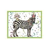 Caspari Party Animals Gift Enclosure Cards with