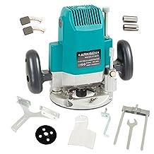 ARKSEN Electric Plunge Router, 1850-Watts, 3HP, 110-Voltage, 24,000-RPM