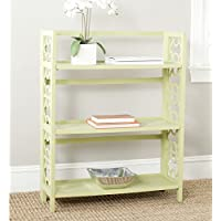 Safavieh American Homes Collection Natalie Split Pea 3-Shelf Bookcase