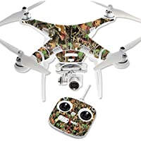 Skin For DJI Phantom 3 Standard – Buck Camo | MightySkins Protective, Durable, and Unique Vinyl Decal wrap cover | Easy To Apply, Remove, and Change Styles | Made in the USA