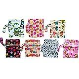 10PCS Charcoal Bamboo Mama Cloth/Menstrual