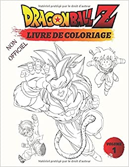 Amazon Com Dragon Ball Z Un Super Livre Dragon Ball Z De Coloriage Volume 1 Non Officiel Dragon Ball Z Livre De Coloriage French Edition 9798642519851 Heros Happy Books