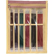 """Royale Double Pointed Needles Set 6""""-Sizes 0/2Mm To 3/3.25Mm"""
