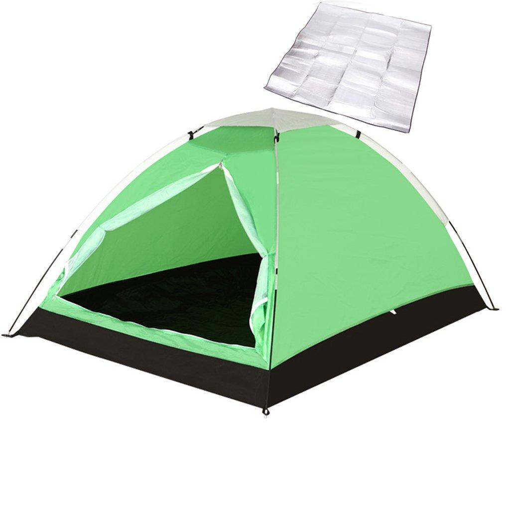 LINGZHIGAN Deportes al Aire Libre Tienda Doble Que acampa Que acampa Campo Pequeña Tienda a Prueba de Viento a Prueba de Lluvia Malla Transpirable