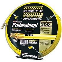 Coleman Powermate P012-0076SP 50-foot by 3/8-inch Yellow 300 PSI PVC Air Hose