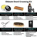 Beard Growth Kit Mens Gifts, Beard Kit with Beard