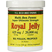YS Royal Jelly/Honey Bee - R.J.+B.P.Propol/, 20000 mg, 11.5 oz gel