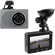 "YI 2.7"" Screen Full HD 1080P60 165 Wide Angle Dashboard Camera, Car DVR Vehicle Dash Cam with G-Sensor, WDR, Loop Recording, Grey"