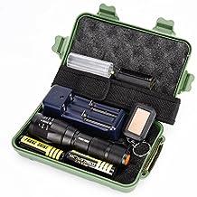 Mokao G700 X800 LED Zoom Military Grade Tactical Flashlight Torch