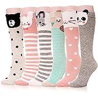 bb5e6cd7ab6 Color City Girls Socks Knee High Stockings Cartoon Animal Warm Cotton Socks
