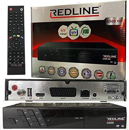 Receptor SATÉLITE - IPTV. REDLINE G500 HD: Amazon.es: Electrónica