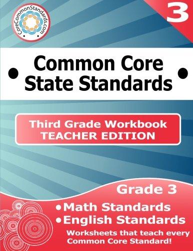 Third Grade Common Core Workbook - Teacher Edition