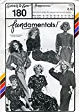 Stretch & Sew Pattern 180 ~ Misses' Fundamentals! Wardrobe ~ Bust 30-46