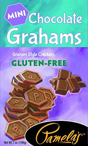 Pamela's Products Gluten Free Graham Crackers, Chocolate Minis , (Pack of 6) by Pamela's Products by Pamela's Products