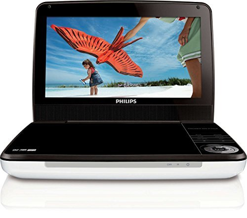 (Philips PD9000/37 9-Inch LCD Portable DVD Player -Silver/Black (Renewed))